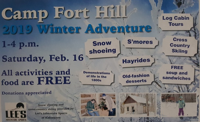 Camp Fort Hill Winter Adventure