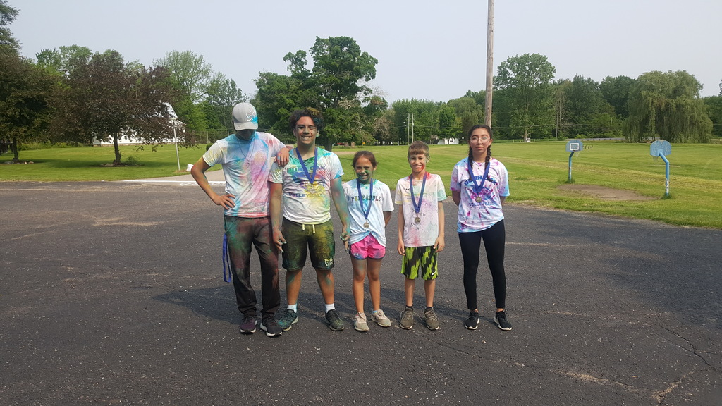 Color run winners