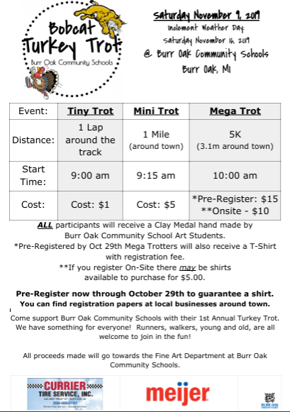 Turkey Trot Info